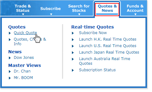 Real Time Quotes Extraordinary Realtime Quotes Services MONEX BOOM
